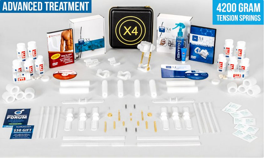 peyronies treatment with x4 labs