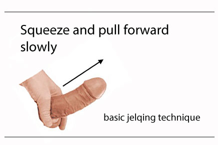 jelqing to increase penis size