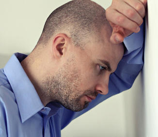weak erection due to psychological impotence