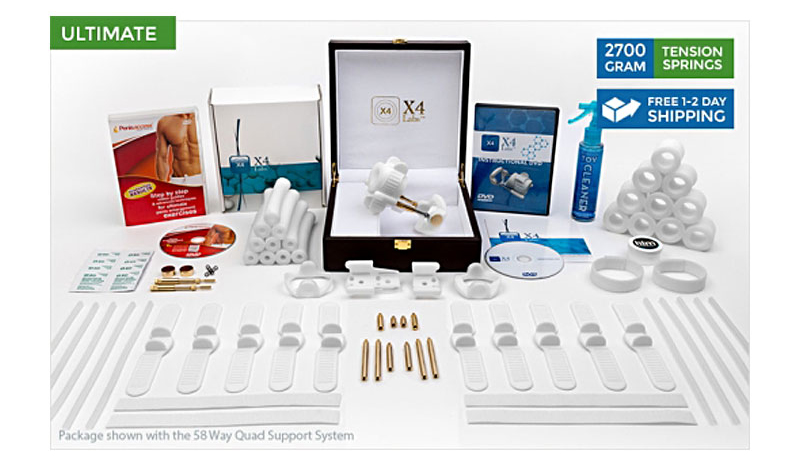 X4 Labs peyronies disease kit
