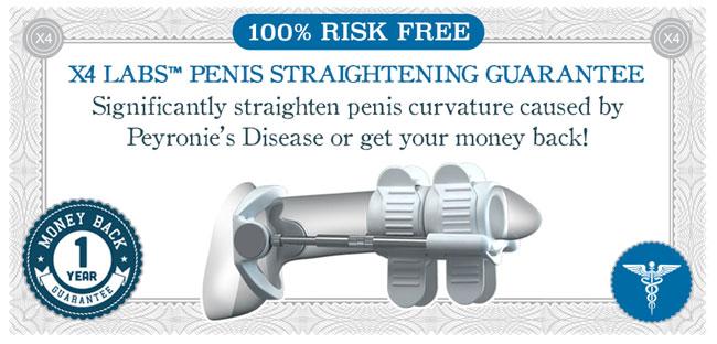 x4 labs bent penis straightening guarantee